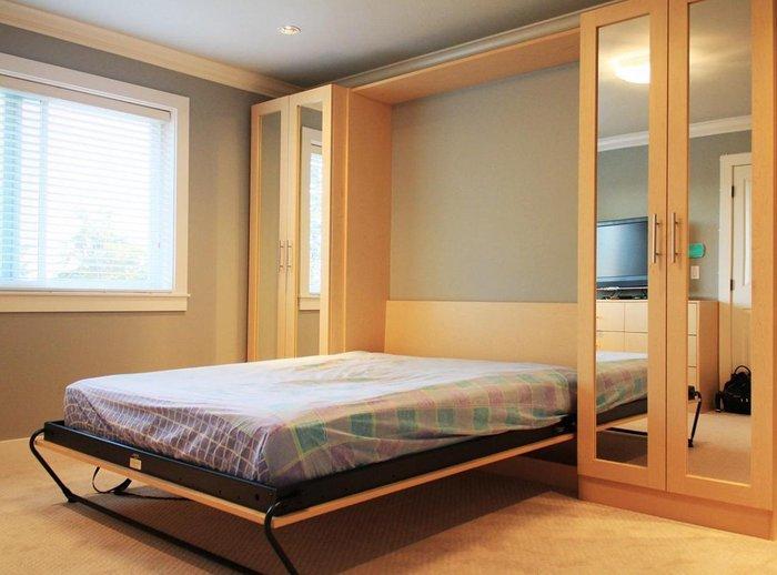 Giường thông minh có thể kéo gập dễ dàng