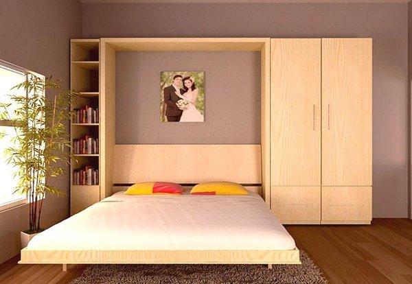 Những kiểu giường đa năng có công dụng tiết kiệm diện tích