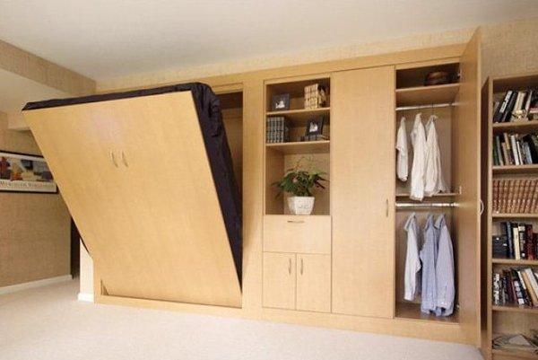 Căn phòng nhỏ, gọn hơn với những mẫu giường ngủ thông minh