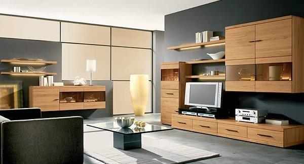 Kệ tivi gỗ tự nhiên cho phòng khách sang trọng