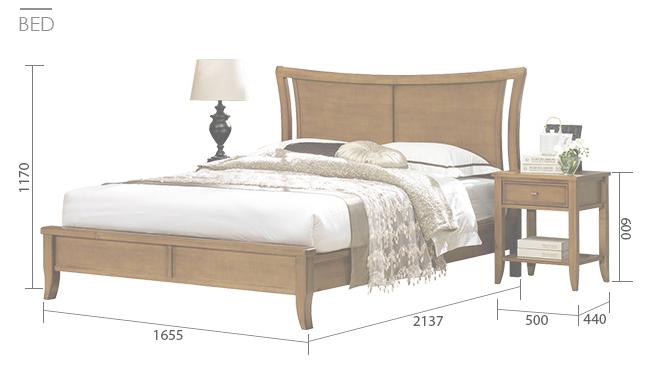 Kích thước giường ngủ bao nhiêu là đủ tiêu chuẩn