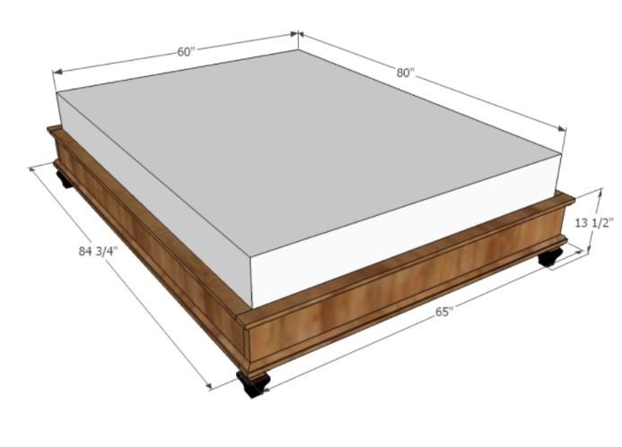 Kích thước giường ngủ theo chuẩn phong thủy - Nội thất theo phong thủy vô cùng quan trọng