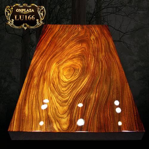 Mặt bàn trà gỗ nguyên tấm cao cấp LU166