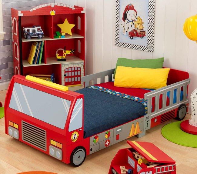giường ngủ hình chiếc xe cứu hỏa
