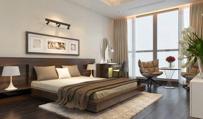 Giường ngủ gỗ hiện đại đẹp sang trọng