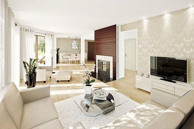 Thiết kế nội thất phòng khách đẹp đơn giản