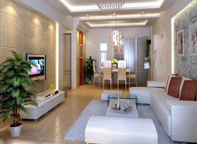 Thiết kế nội thất phòng khách đẹp đơn giản 6