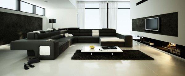 Bài trí phòng khách phù hợp cho những không gian rộng rãi