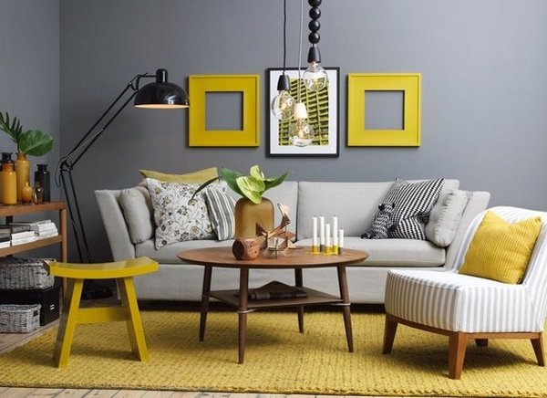 Mẹo làm không gian phòng khách rộng với ghế salon hiện đại