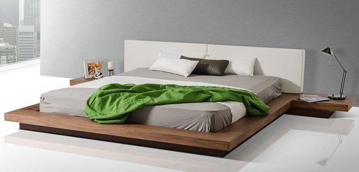 Giường ngủ hiện đại thiết kế đơn giản vô cùng
