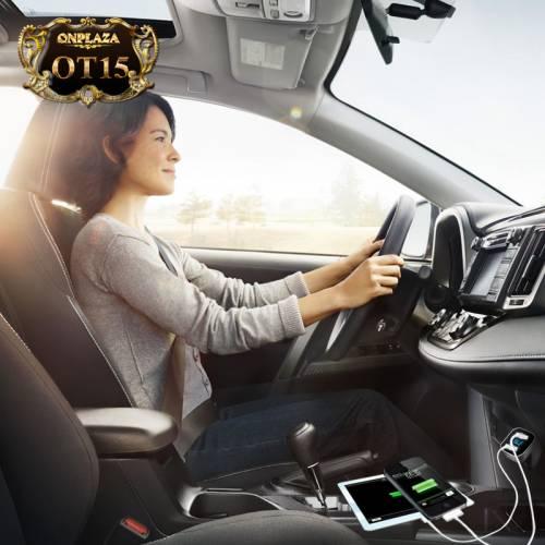 Sạc usb đa năng cao cấp dùng cho xe hơi OT15