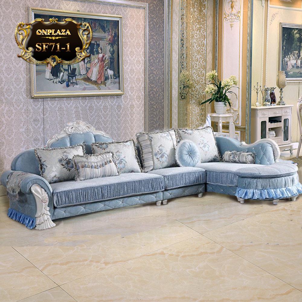 Bộ sofa tân cổ điển ánh dương phong cách châu Âu SF71