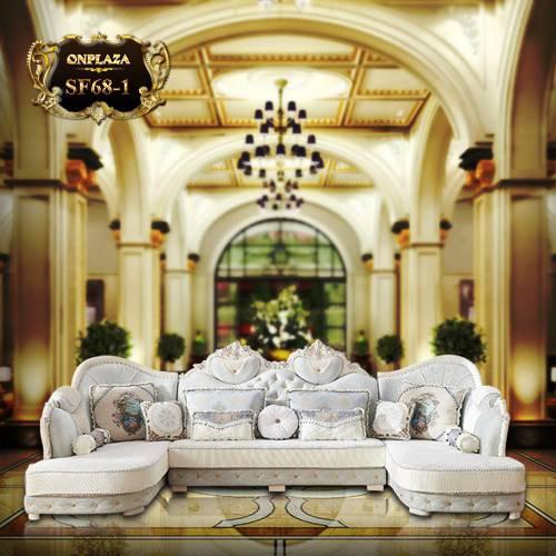 Bộ ghế sofa tân cổ điển phong cách châu Âu SF68