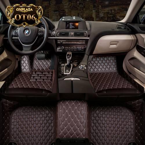 Thảm lót sàn ô tô da PU nhập khẩu cao cấp OT06