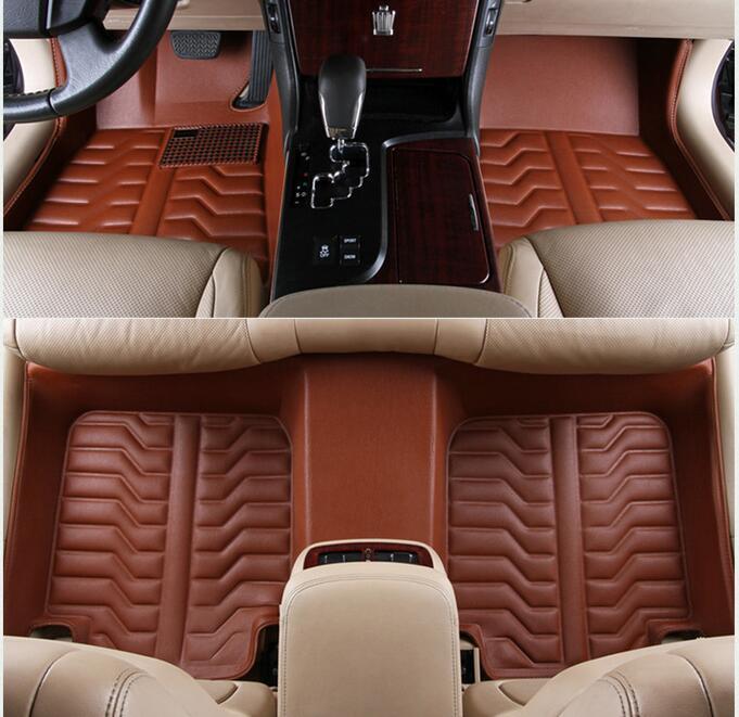 Thảm lót sàn 3D cao cấp cho xe ô tô Toyota