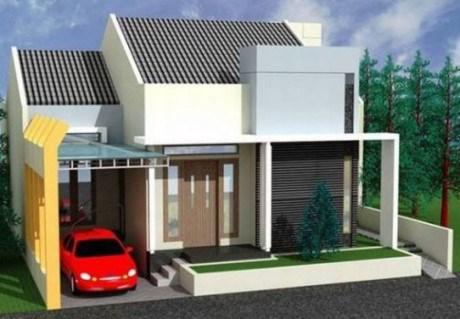 Thiết kế nhà cấp 4 gác lửng với giá 300 triệu đồng