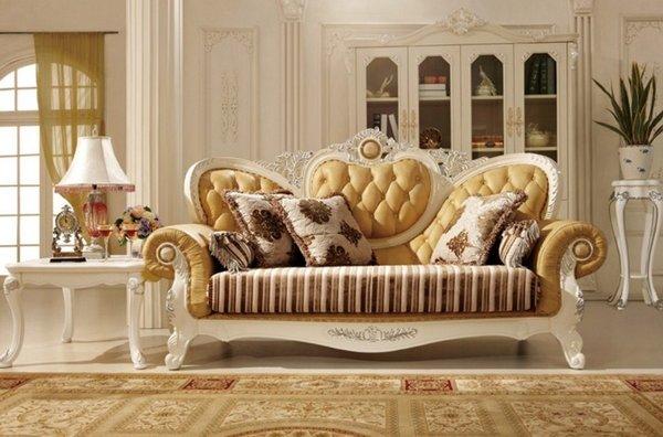 Ghế sofa cổ điển và tân cổ điển cho căn phòng cổ điển