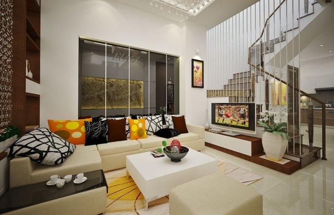 Mẫu thiết kế phòng khách đơn giản và đẹp