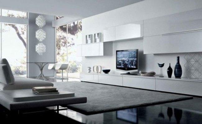 Thứ ba: Thiết kế phòng khách đẹp hiện đại theo phong cách đương đại.