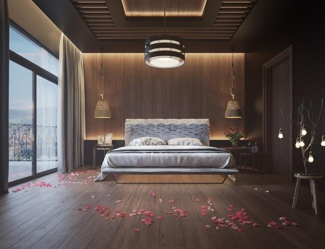 Top các mẫu thiết kế không gian nội thất phòng ngủ hiện đại
