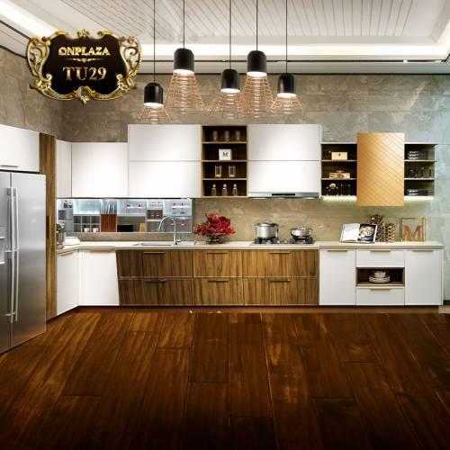 Tủ bếp thiết kế cao cấp cho phòng bếp sang trọng TU29