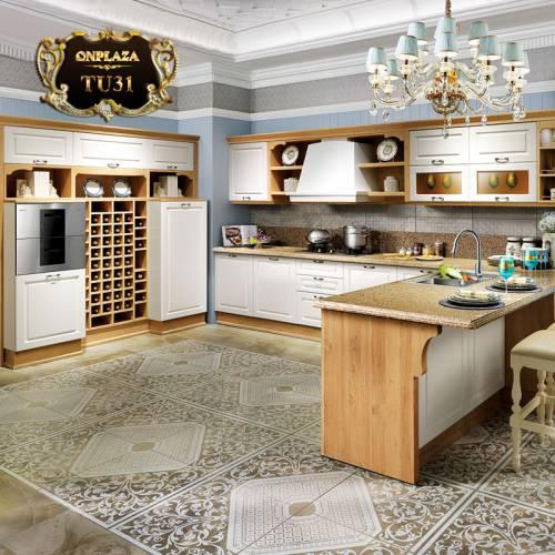 Tủ bếp thiết kế cao cấp cho phòng bếp sang trọng TU31