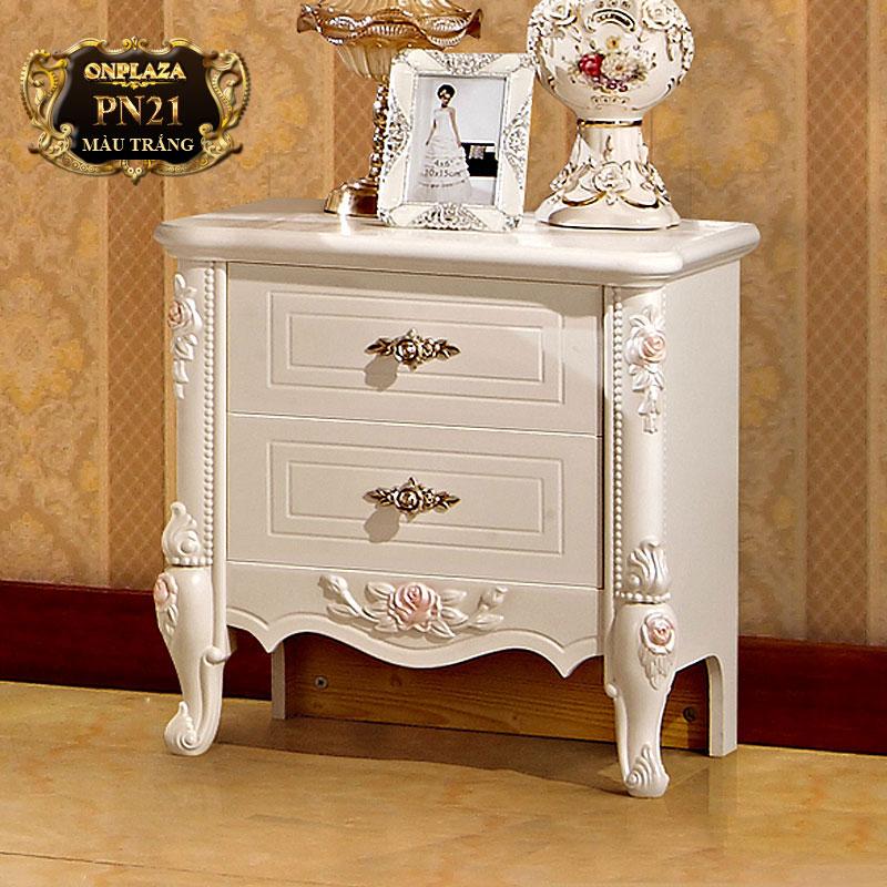 Tủ nhỏ đầu giường phong cách Pháp sang trọng PN21