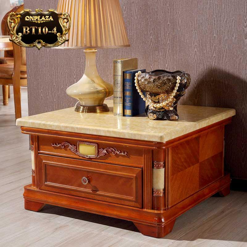 Bàn trang trí  phòng khách mặt đá hoa cương BT10-4