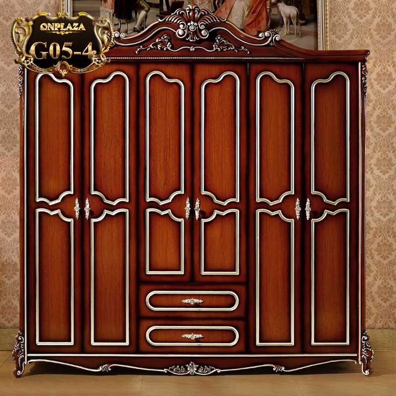 Tủ quần áo phong cách Hoàng gia sang trọng G05-4