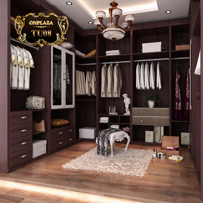 Tủ quần áo đa năng cao cấp cho phòng ngủ hiện đại TU08