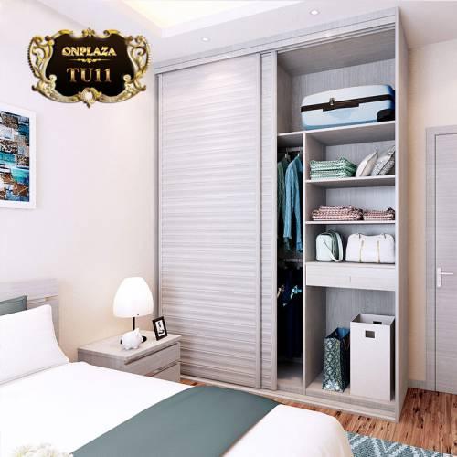 Tủ quần áo đa năng cao cấp cho phòng ngủ hiện đại TU11