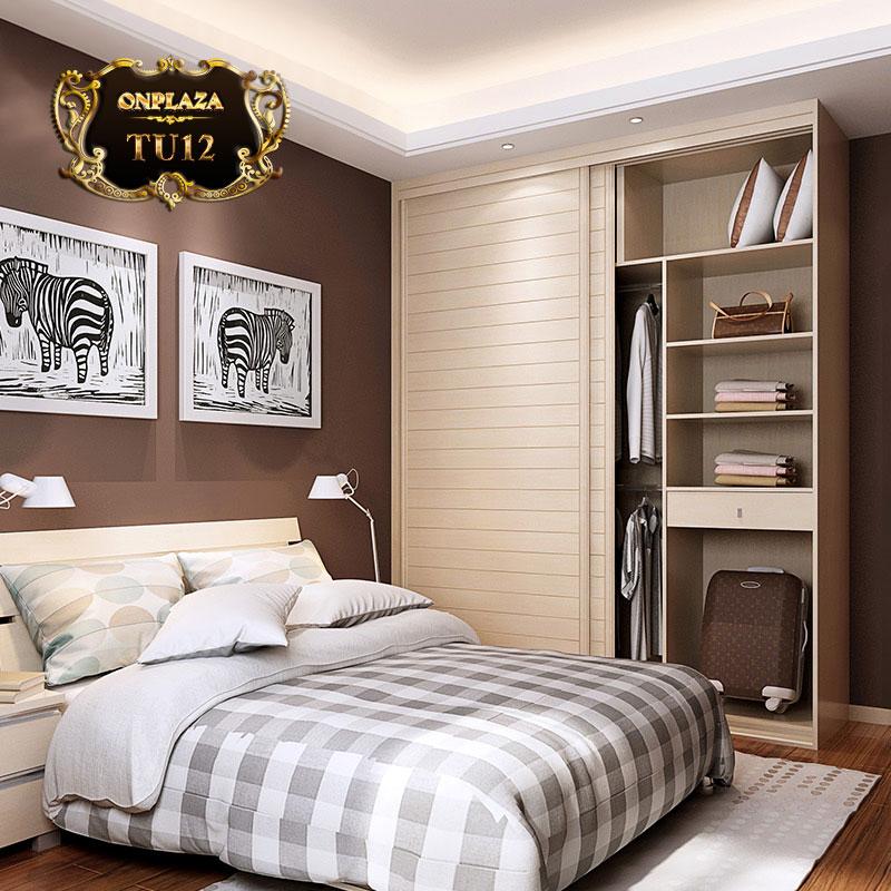 Tủ quần áo đa năng cao cấp cho phòng ngủ hiện đại TU12