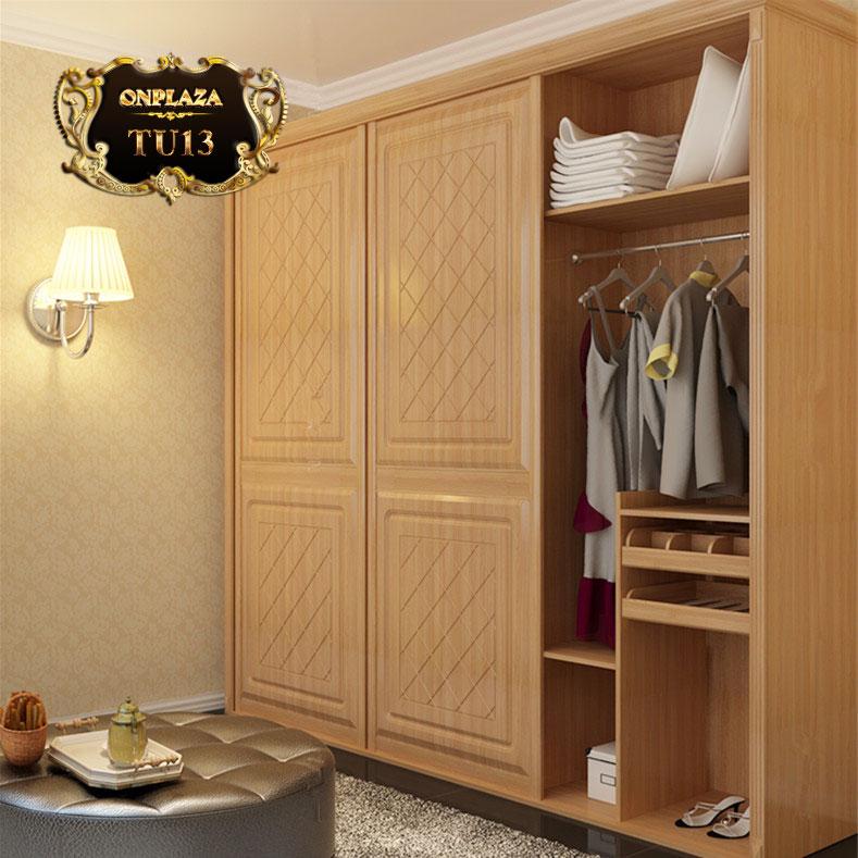 Tủ quần áo tiện ích đa năng cao cấp cho phòng ngủ TU13