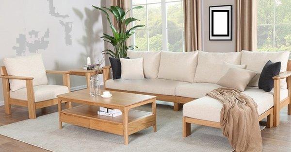 Mẫu sofa gỗ đẹp giá rẻ