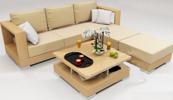 Sofa phòng khách góc chữ L đẹp